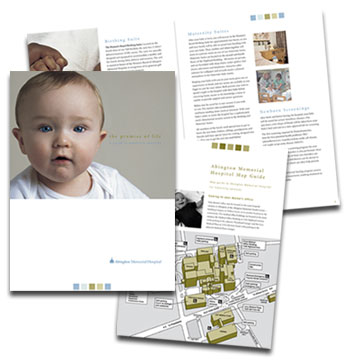 Abington Memorial Hospital maternity services brochure