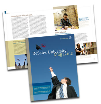 DeSales University Alumni Magazine Redesign